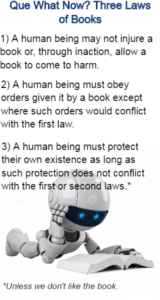 three laws of books